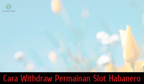 Cara Withdraw Permainan Slot Habanero